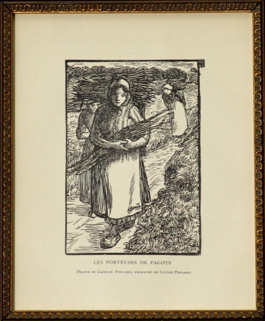 Camille Pissarro - Les Porteuses de Fagots