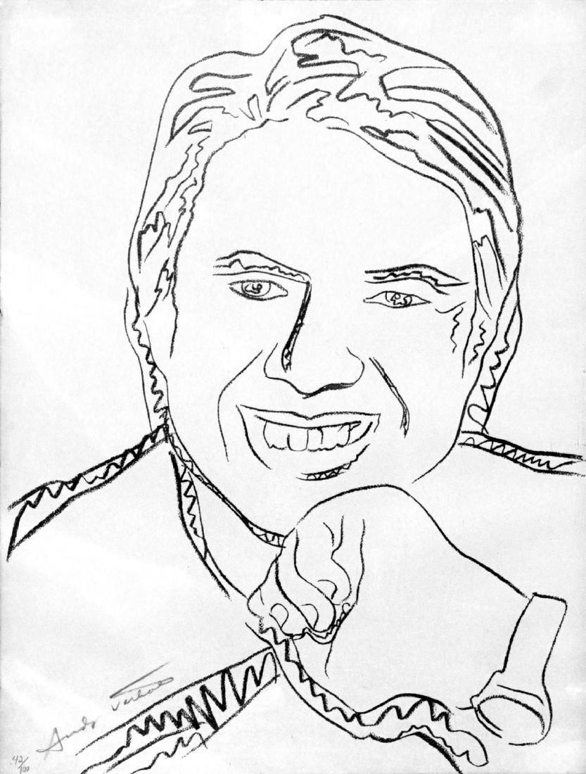 Andy Warhol - Jimmy Carter III