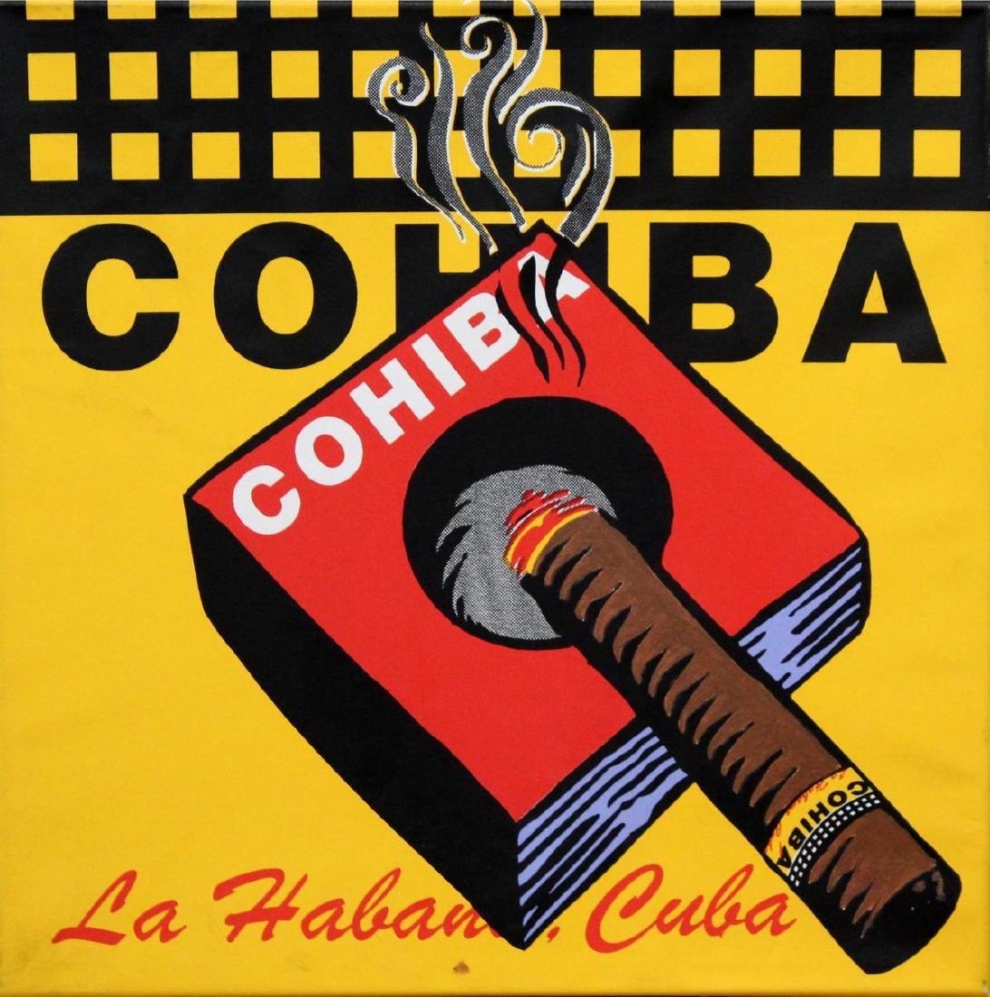 Steve Kaufman - Cohiba
