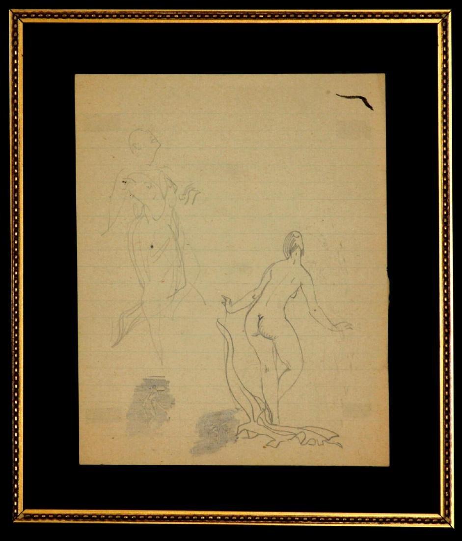 Ludovic-Rodo Pissarro - Sketches of Figures