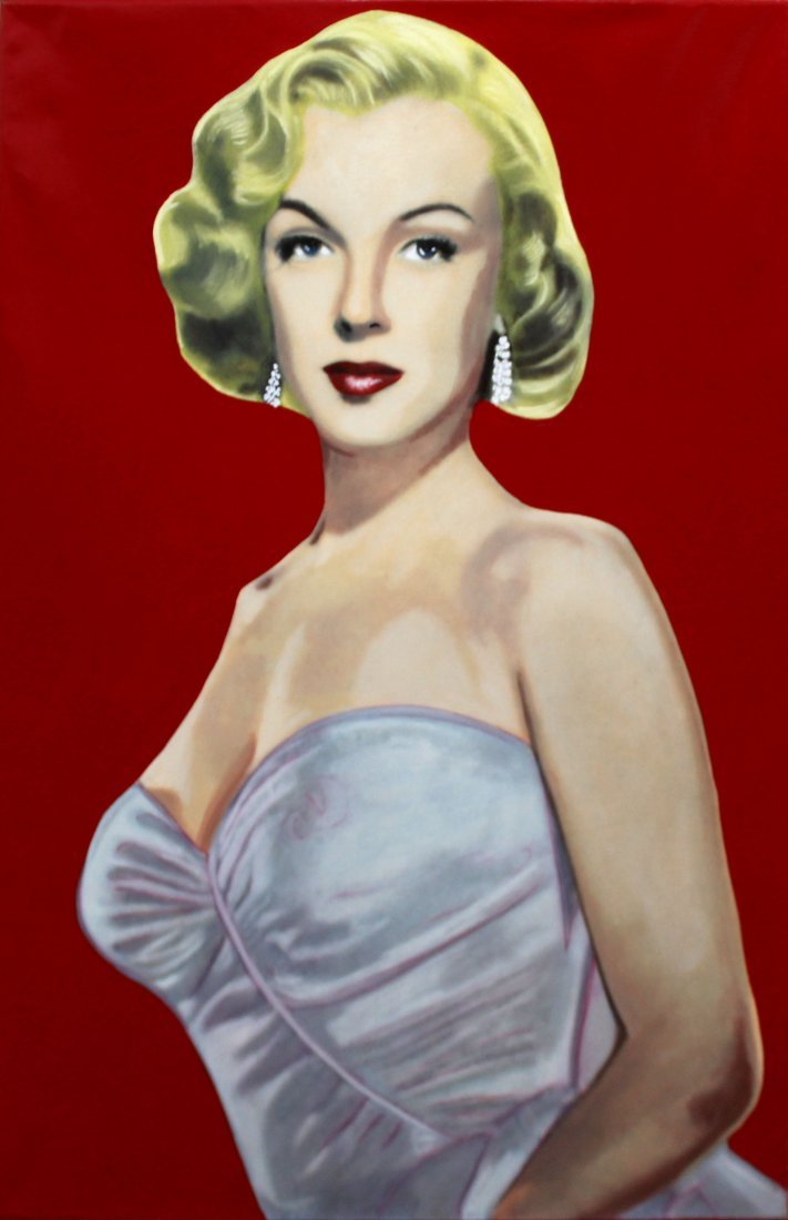 Steve Kaufman - Marilyn