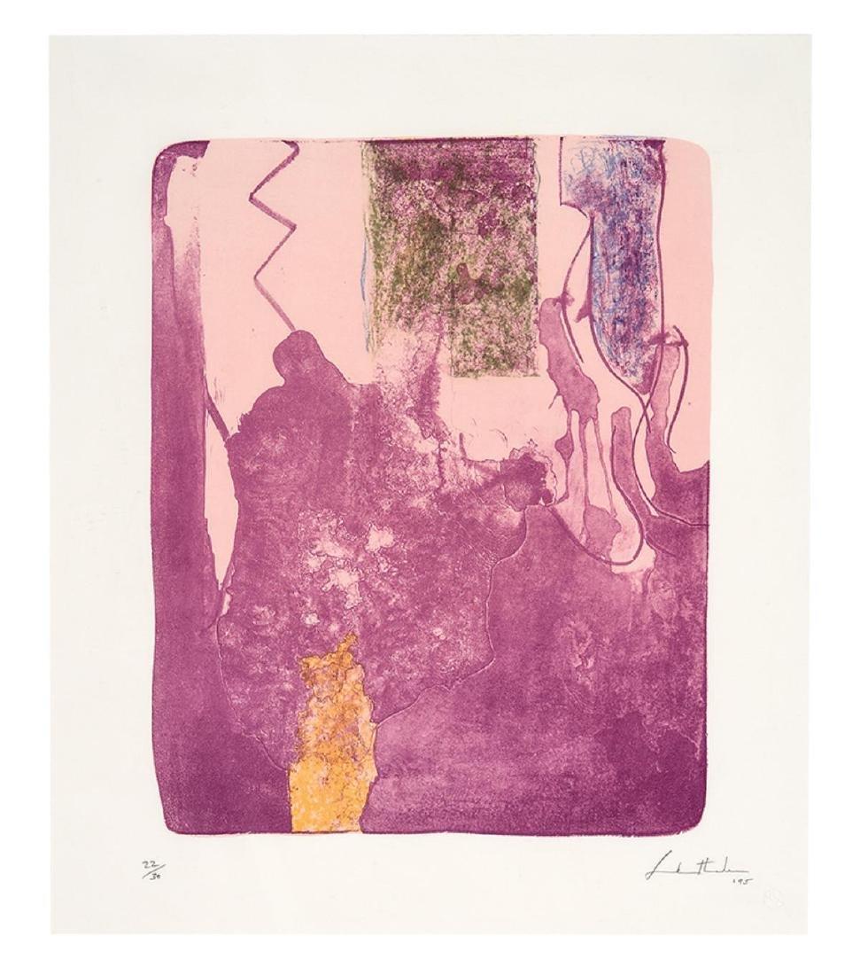 Helen Frankenthaler  - Reflections X