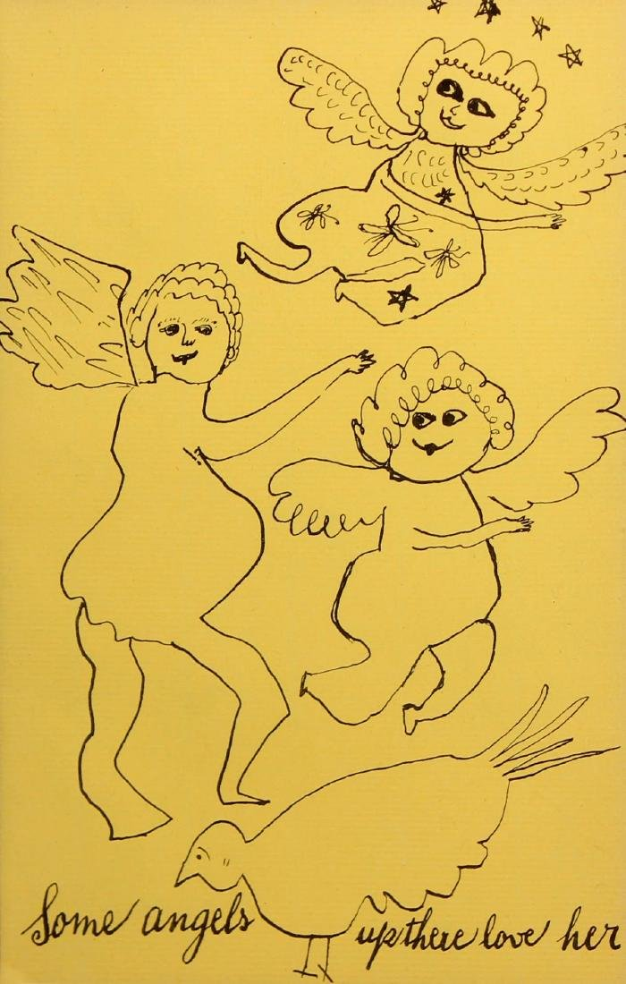 Andy Warhol - Some Angels Up There Love Her