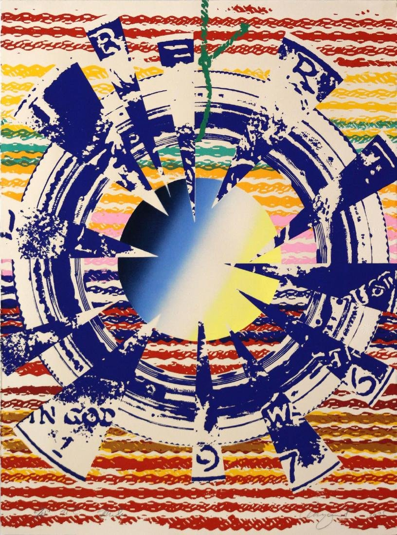 James Rosenquist - Miles ( from America: the Third