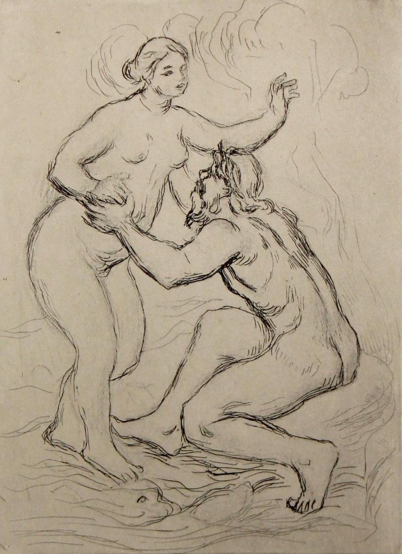 Pierre-Auguste Renoir - Le Fleuve Scamandre 1st State