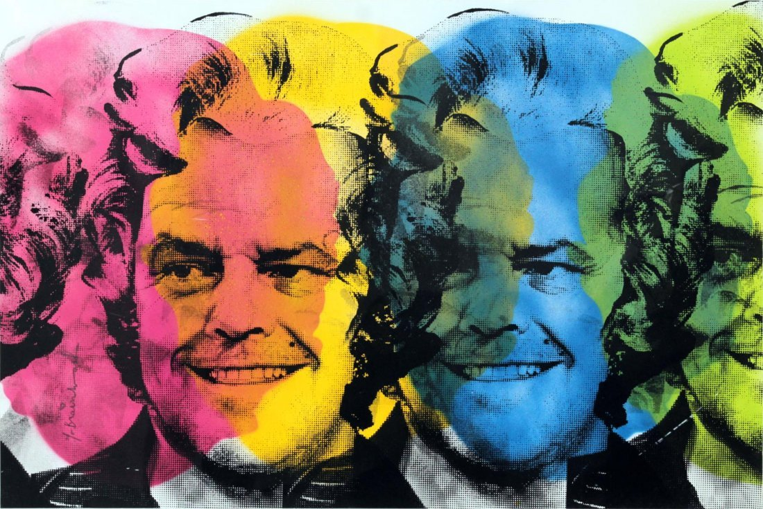 Mr. Brainwash - Jack Nicholson (Unique)