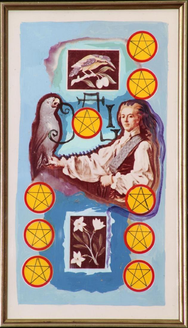 Salvador Dali - Nine of Pentacles Minor Arcana