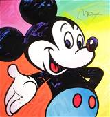 Peter Max - Mickey Mouse