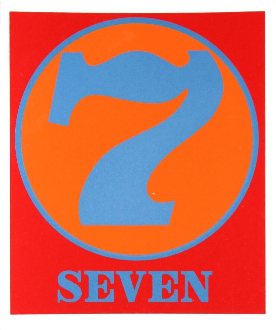 Robert Indiana - Seven