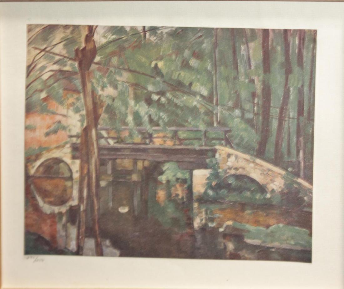 Paul Cezanne - Bridge of Maincy Melun