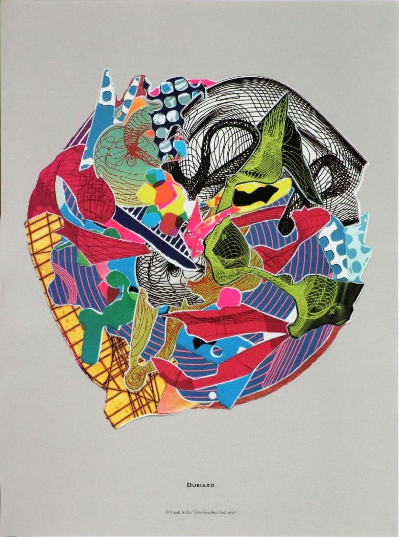 Frank Stella (After) - Dubiaxo