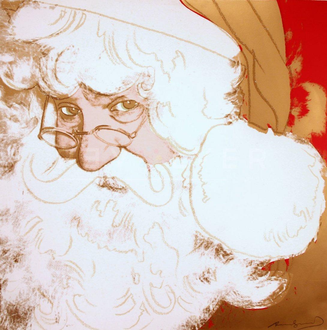 Andy Warhol - Santa Claus