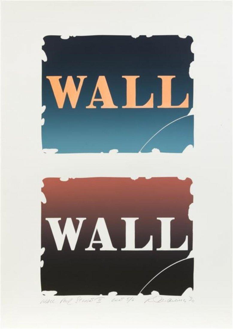 Robert Indiana - Wall: Four Stones II - One
