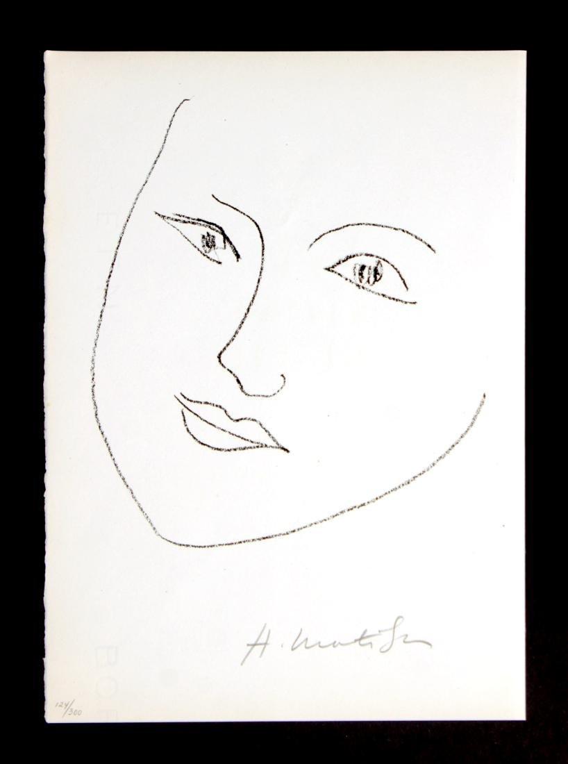 Henri Matisse - Portrait of a Woman