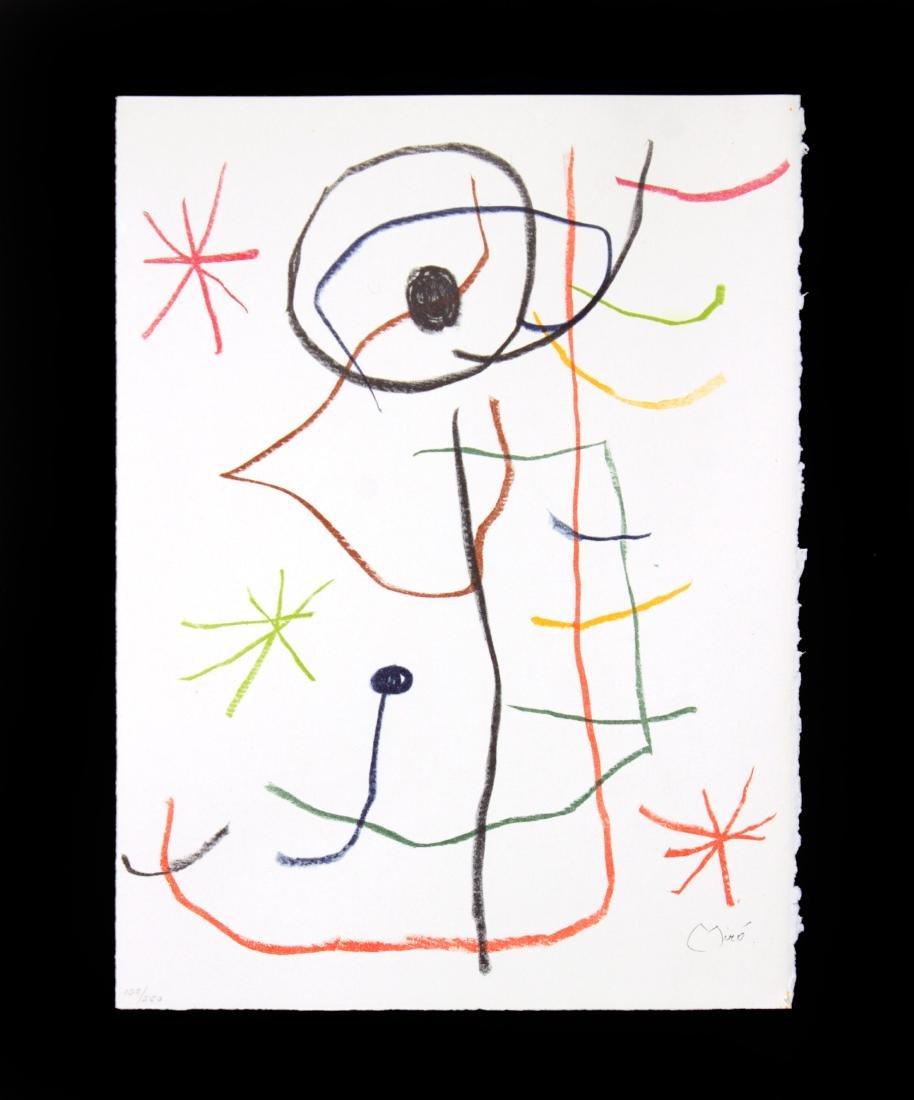 Joan Miro - Abstract Composition