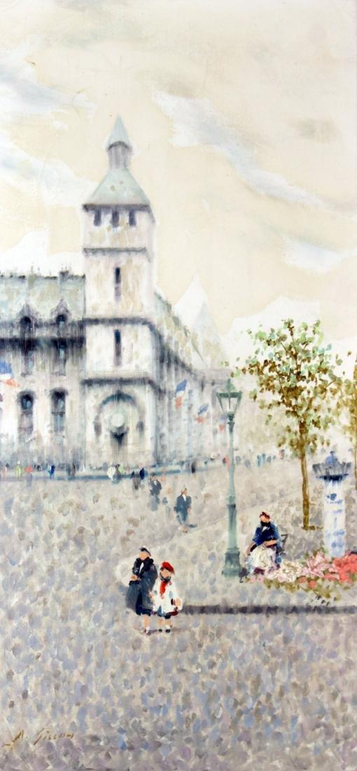 Andre Gisson - Untitled (Paris Street) - 2