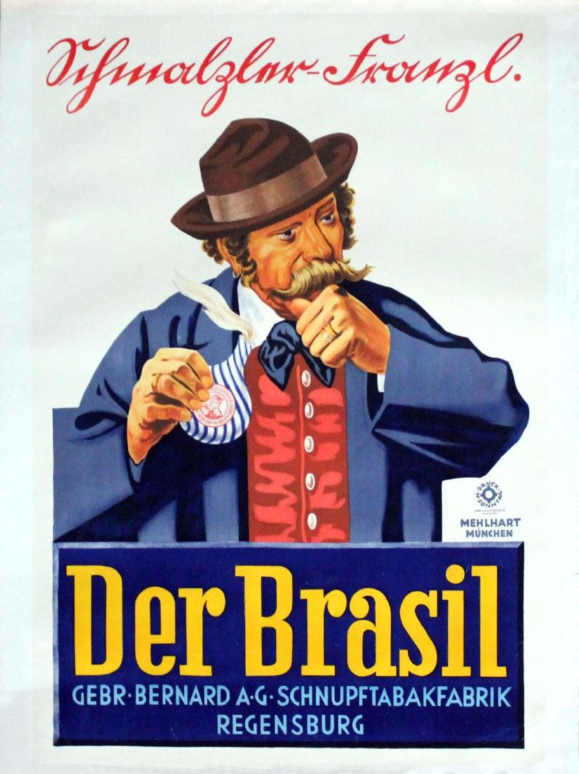 Vintage Poster - German Der Brasil Ad