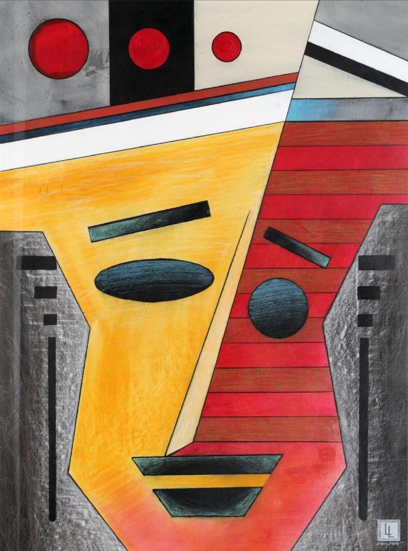 Larry Laslo - Cubist Faces