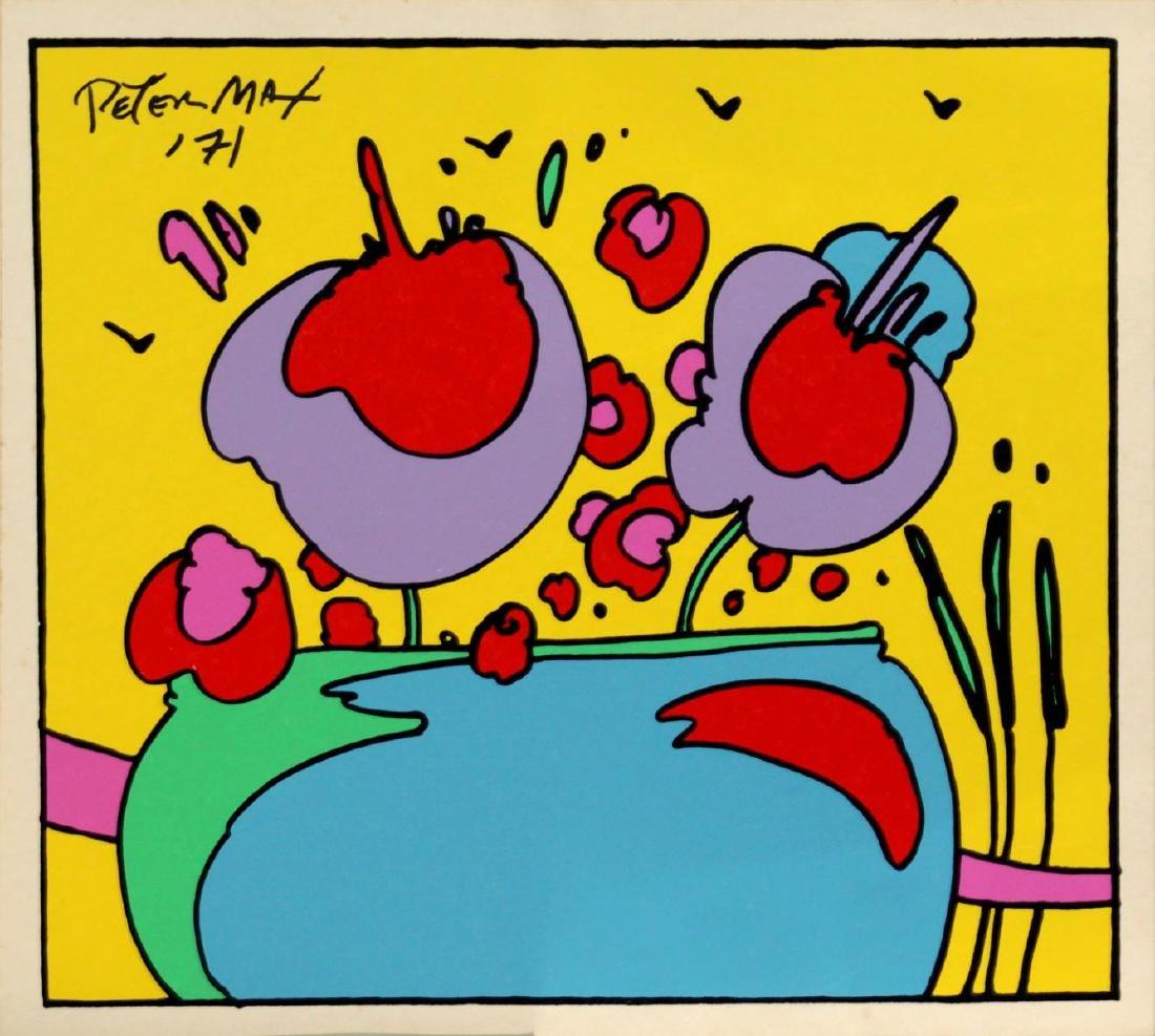 Peter Max - Cosmic Flowers