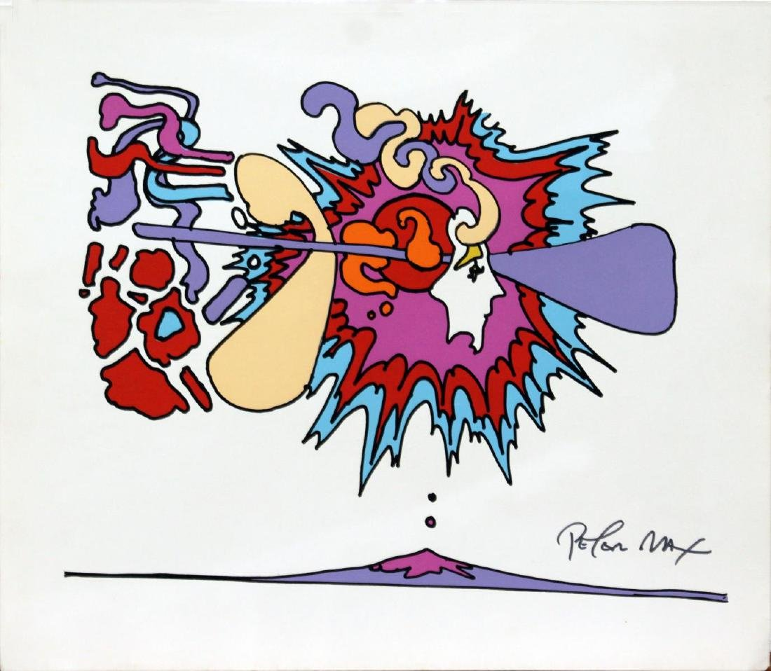 Peter Max - Winter Sunsign