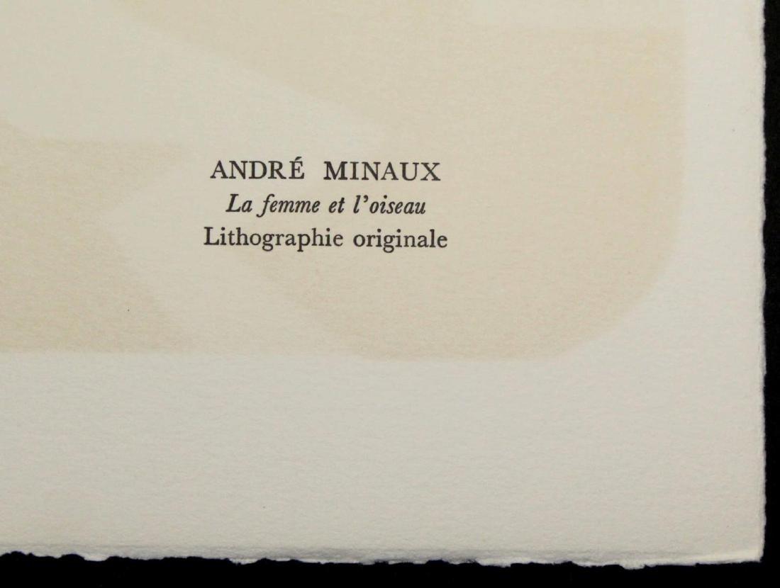 Andre Minaux - La femme et l'oiseau - 2