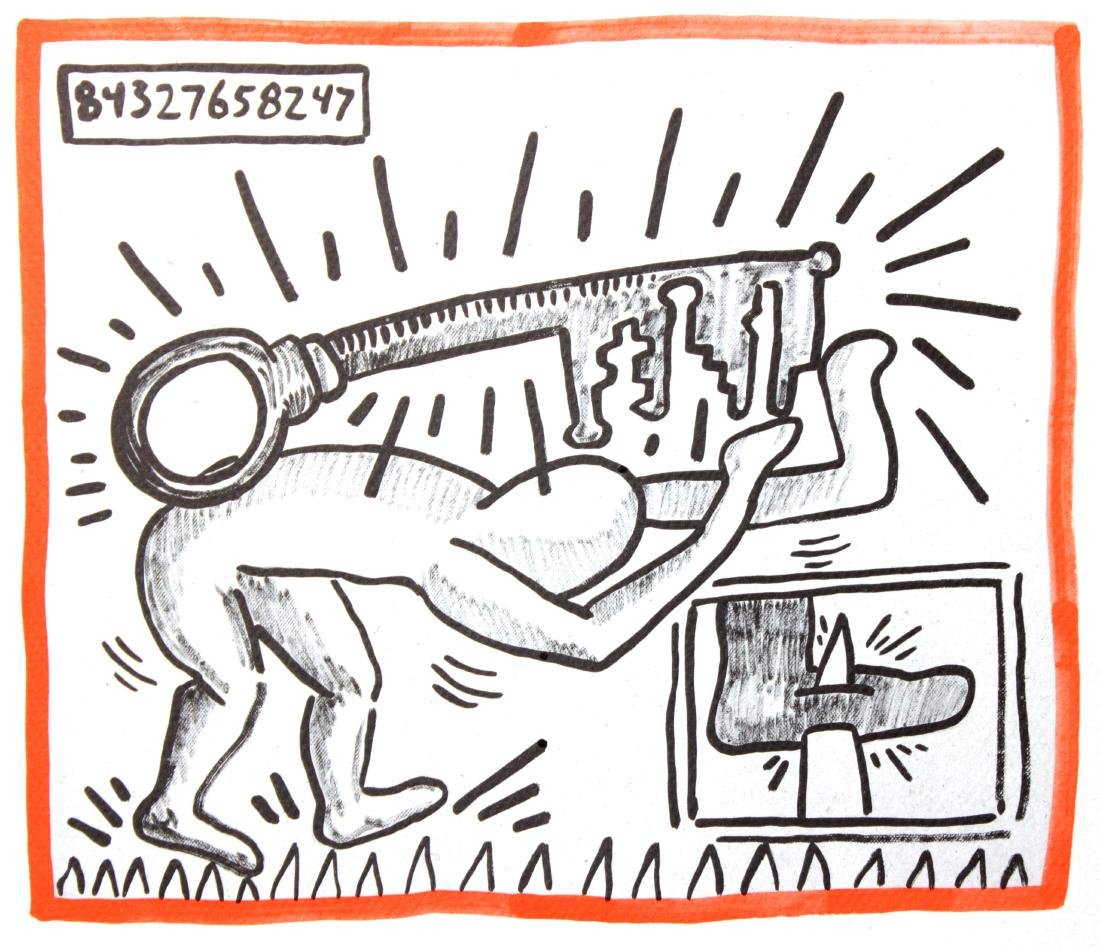 Keith Haring - Untitled