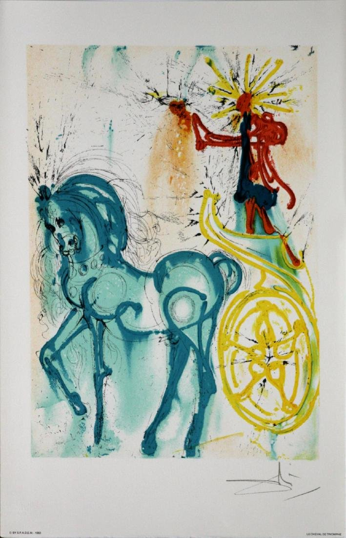 Salvador Dali (After)- The Horse of Triumph