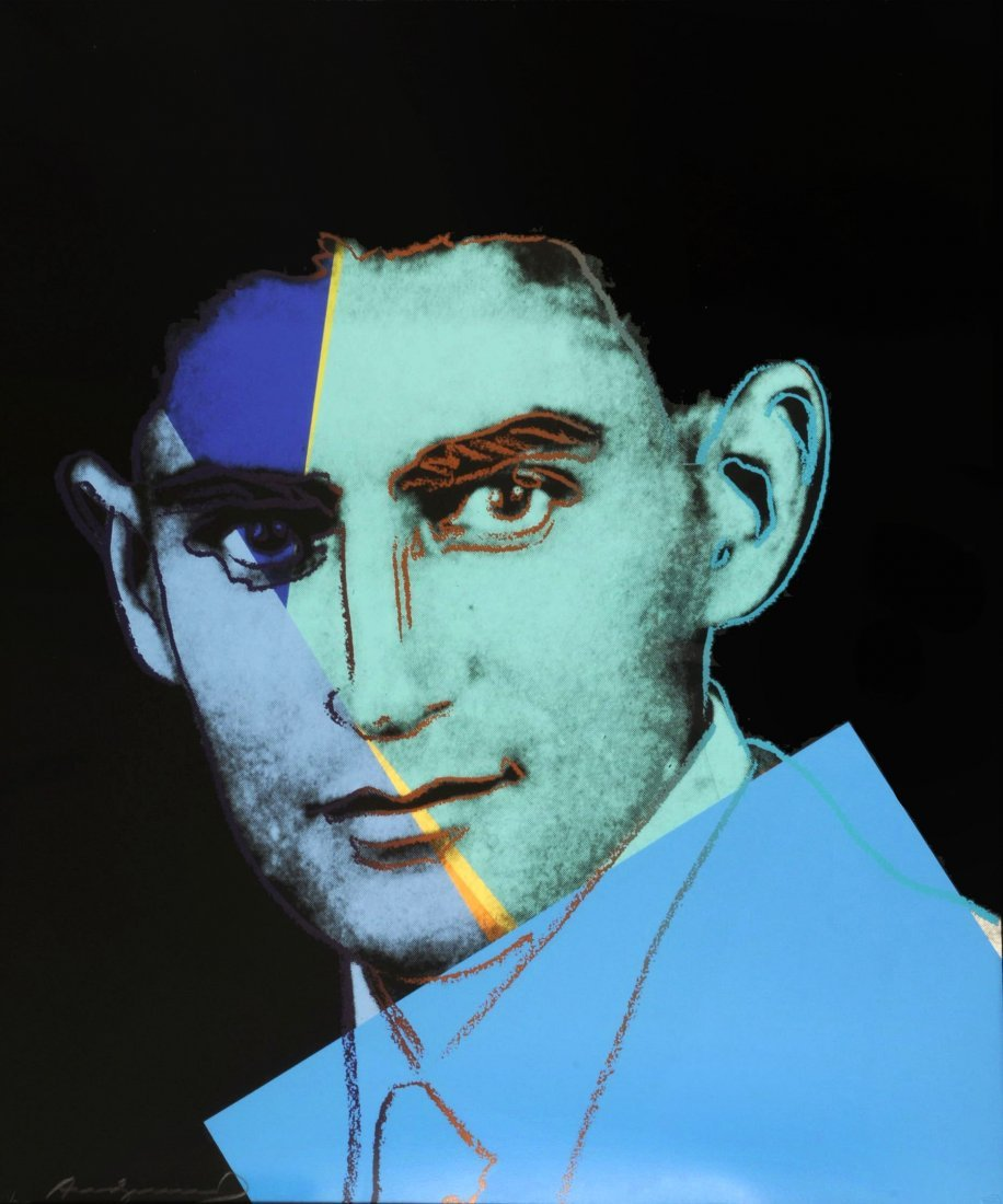 Andy Warhol - Franz Kafka