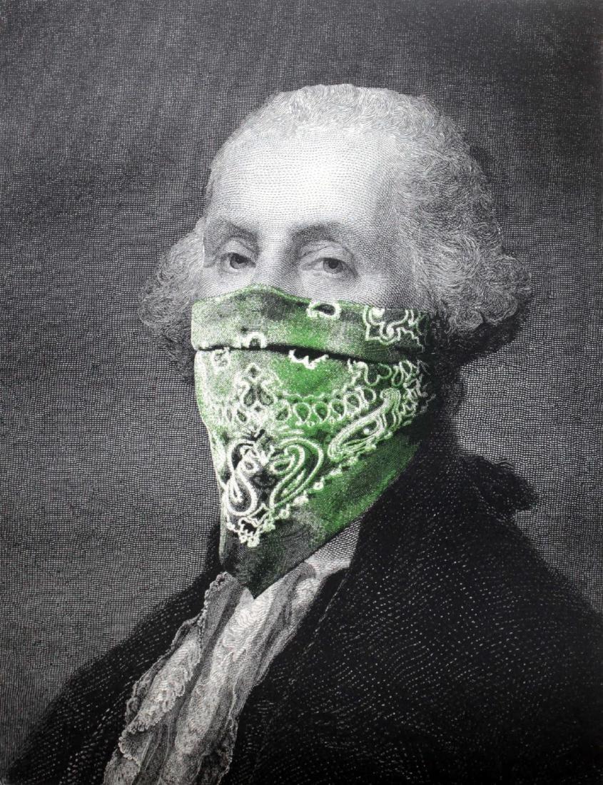 Mr. Brainwash - President's Day - Bandana (Washington)