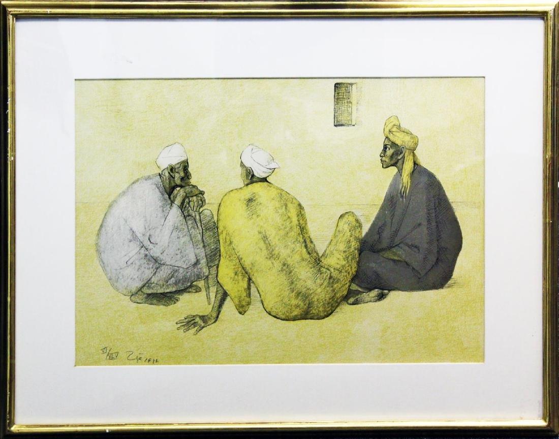 Francisco Zuniga - Impresiones de Egipto