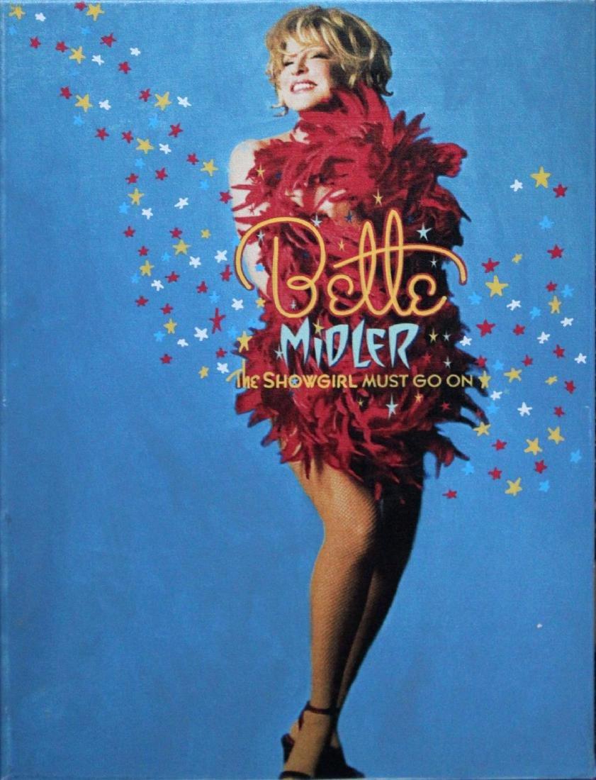 Steve Kaufman - Bette Midler - The Showgirl Must Go On