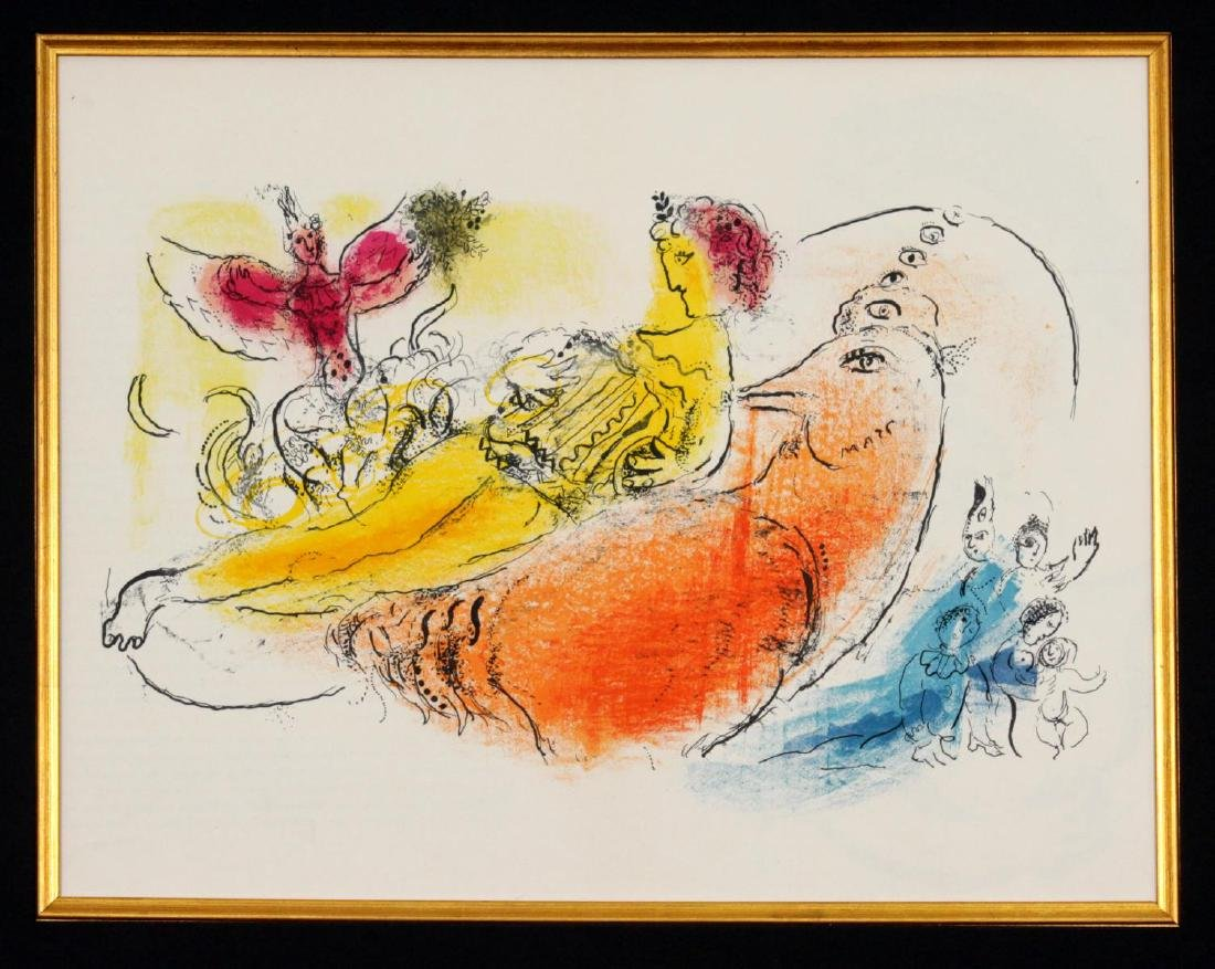 Marc Chagall - The Accordionist