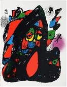 Joan Miro - Lithographie Originale IV Cover