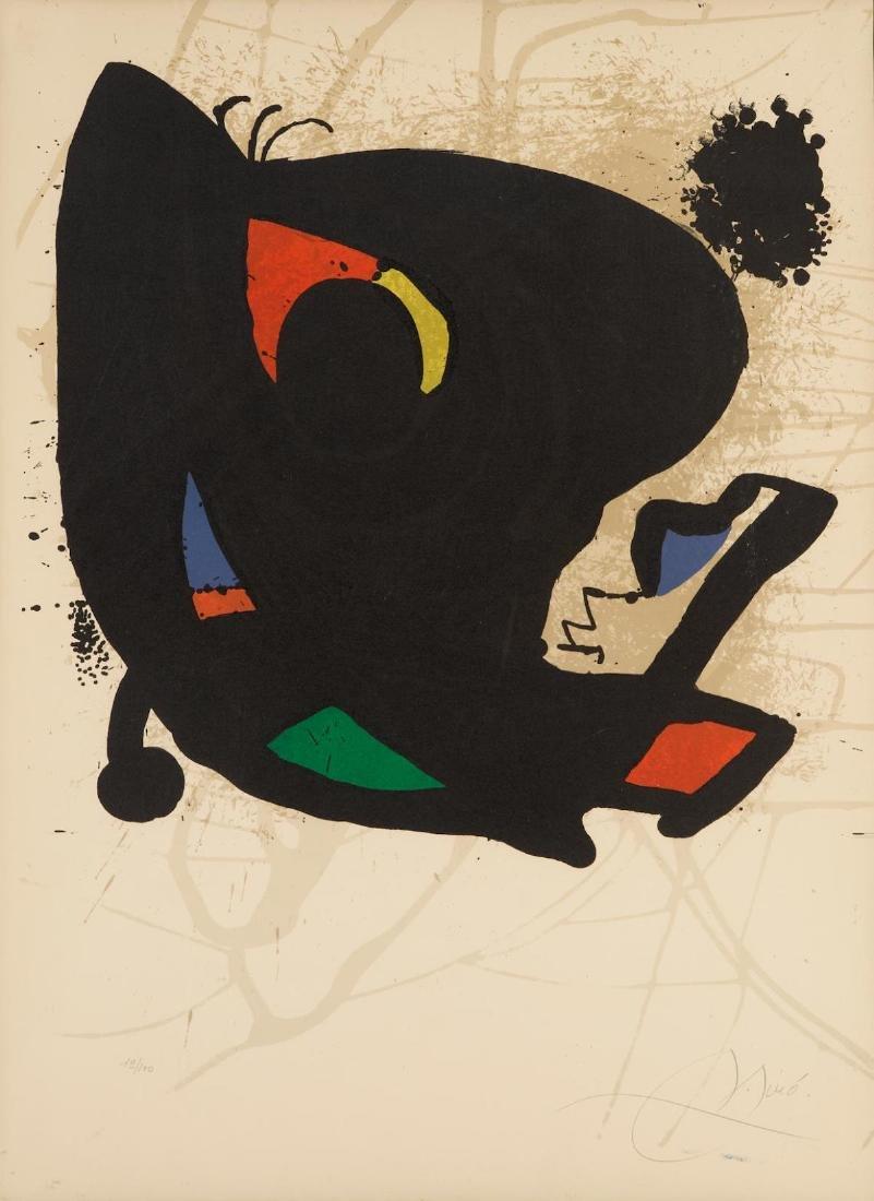 Joan Miro - Exhibition Miro L'ouevre