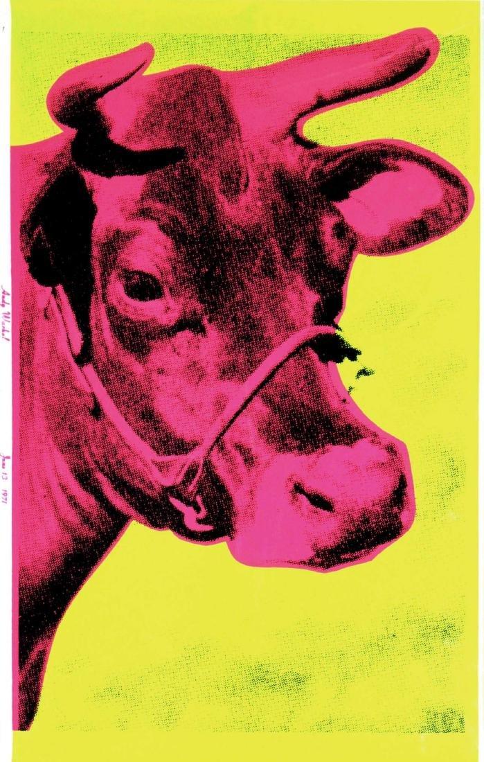 Andy Warhol - Cow 1971