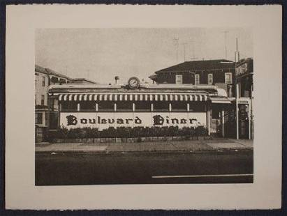 John Baeder Boulevard Diner