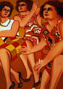 Lester Johnson Three Women