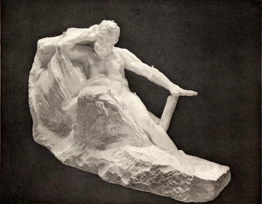 Auguste Rodin (after) - Victor Hugo