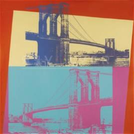 Andy Warhol - Brooklyn Bridge