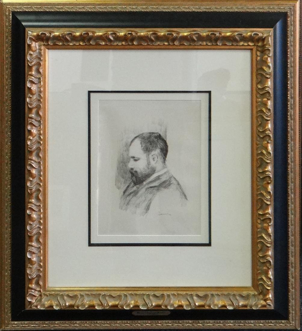 "Pierre-Auguste Renoir ""Portrait of Vollard"""