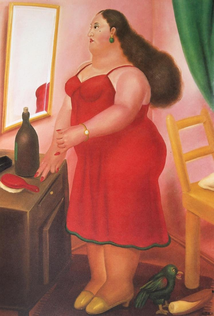 Fernando Botero (after) - Colombian