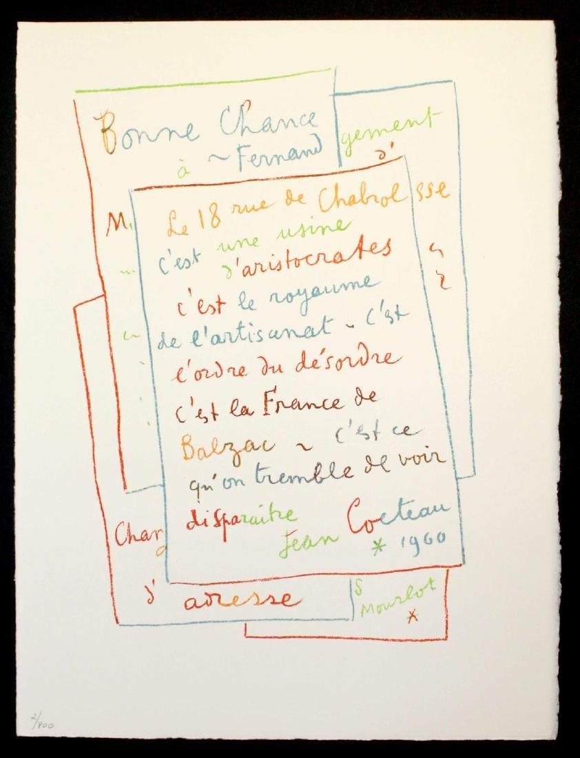 Jean Cocteau - Manuscript
