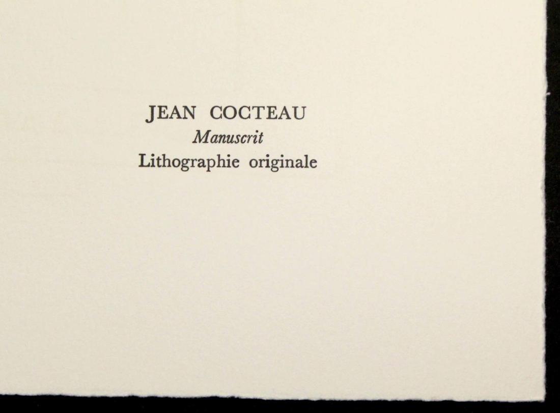 Jean Cocteau - Manuscript - 2
