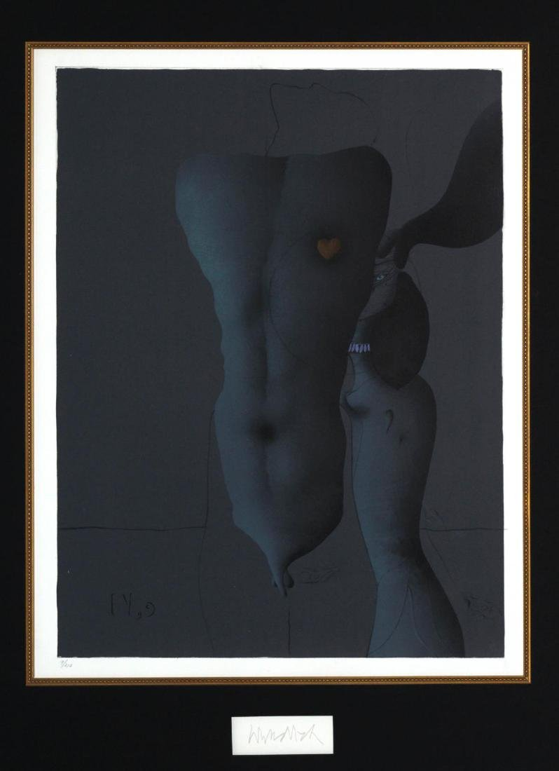 "Paul Wunderlich - Untitled from ""Song of Songs"""