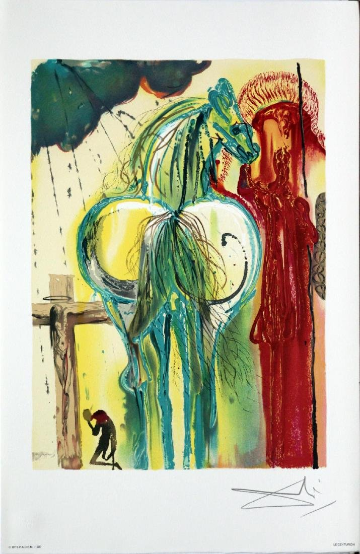 Salvador Dali (After) - The Centurion