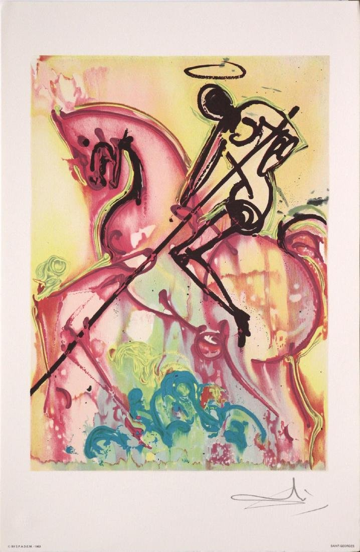 Salvador Dali (after) - Saint George