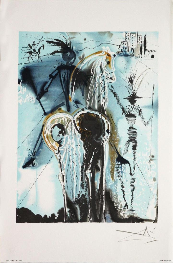 Salvador Dali (After)- Don Quichotte