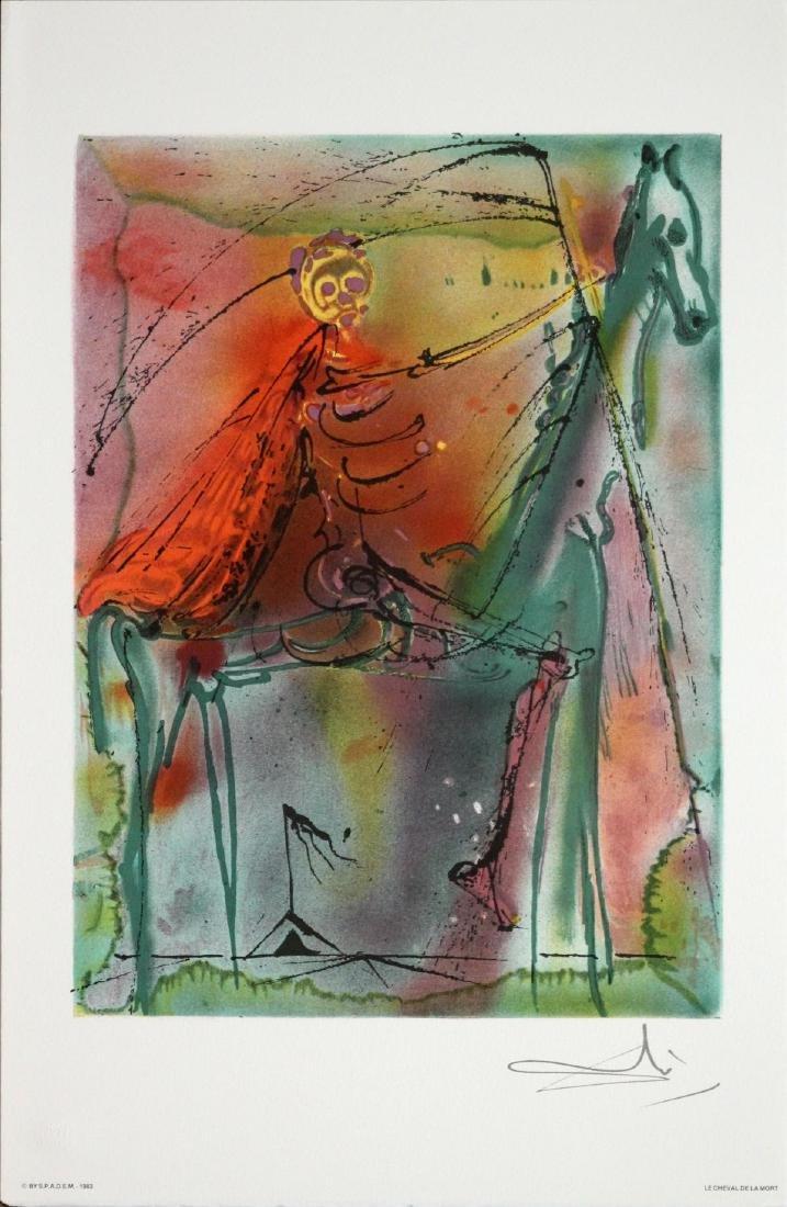 Salvador Dali (After) - The Death Horse