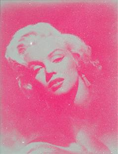Russel Young Marilyn Glamour