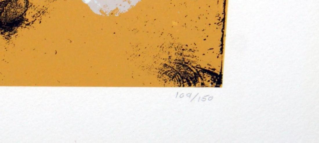 Adolph Gottlieb - Orange Oval - 3